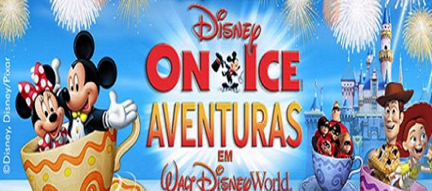 Disney On Ice – Aventuras em Walt Disney World no Brasil