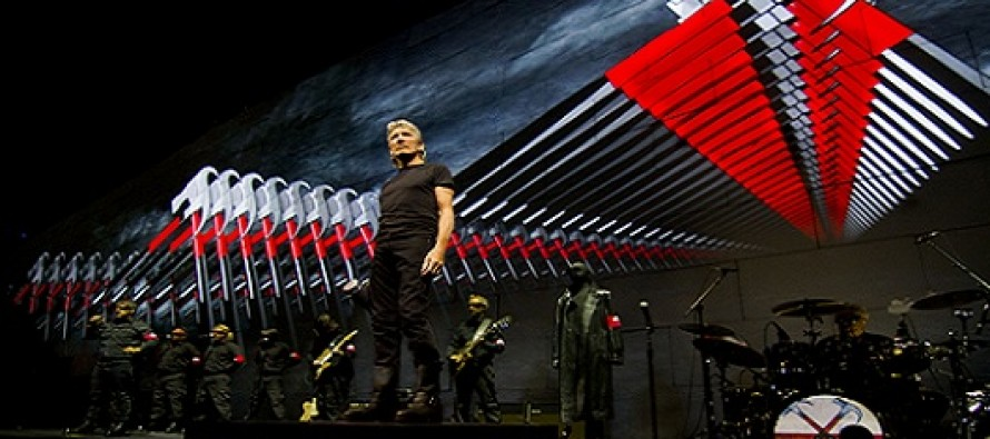 Roger Waters segue com a turnê Mundial de The Wall e chega à América do sul em 2012