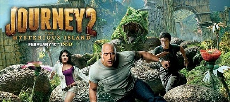 Journey 2: The Mysterious Island: assista o novo trailer para o filme