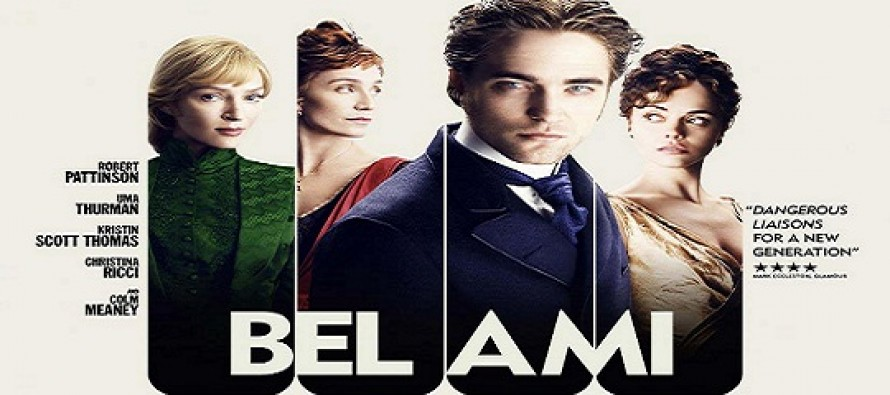 Bel Ami : Robert Pattison, Uma Thurman, Christina Ricci e Kristin Scott Thomas em novo cartaz do filme