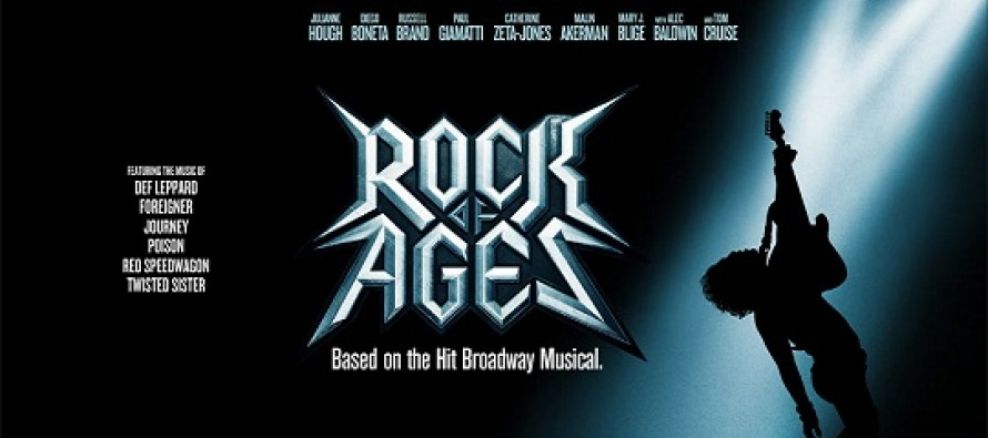 Rock of Ages – O Filme | confira o cartaz internacional para o musical estrelado por Tom Cruise