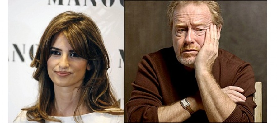 The Counselor | Penélope Cruz pode integrar elenco do filme dirigido por Ridley Scott