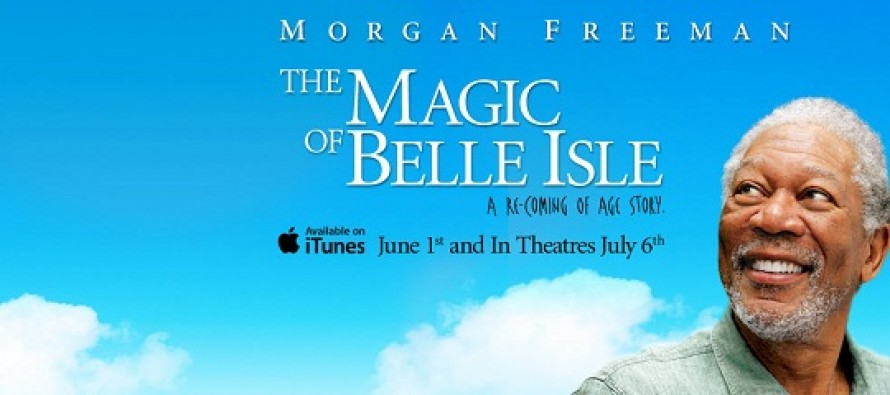 The Magic of Belle Isle | confira o trailer e pôster para o filme estrelado por Morgan Freeman