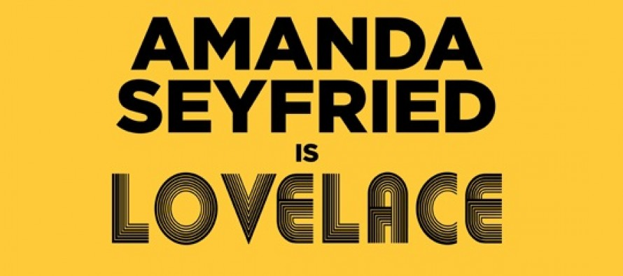 Lovelace | Amanda Seyfried estampa cartaz inédito para a cinebiografia