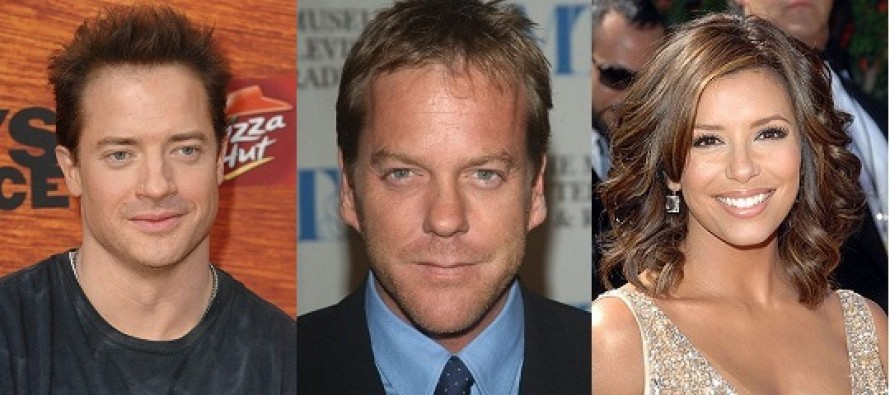 Married and Cheating | Brendan Fraser, Kiefer Sutherland e Eva Longoria confirmados na comédia romântica