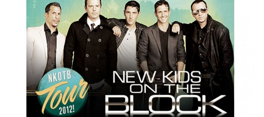 XYZ LIVE anuncia NEW KIDS ON THE BLOCK no Brasil