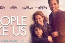 People Like Us | Chris Pine e Elizabeth Banks estampa primeiro cartaz do filme