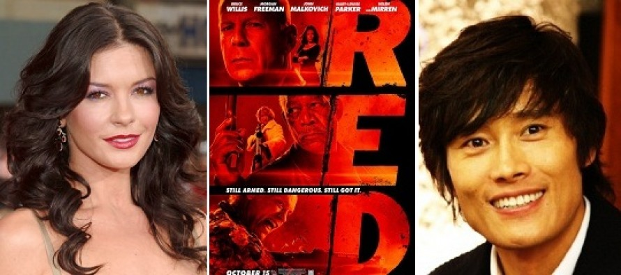 Red 2 | Catherine Zeta-Jones e Byung-Hun Lee confirmados na sequência do longa