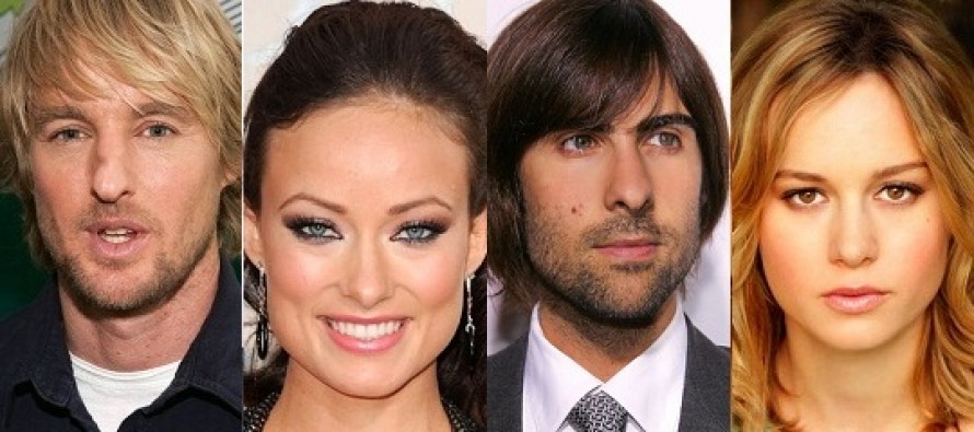 Squirrels to the Nuts | Owen Wilson, Olivia Wilde, Jason Schwartzman e Brie Larson confirmados no longa