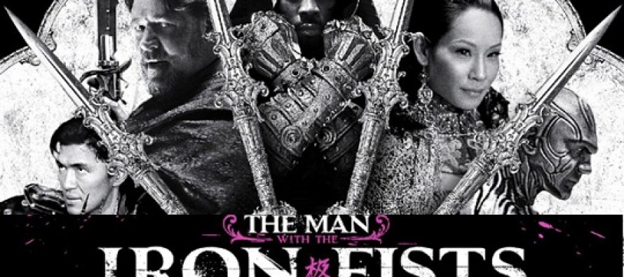 The Man With the Iron Fists | Russell Crowe, Jamie Chung, Lucy Liu e RZA estampam primeiro cartaz do filme