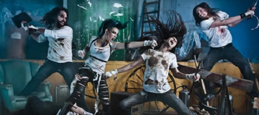 Videoclipe   The Agonist – Panophobia