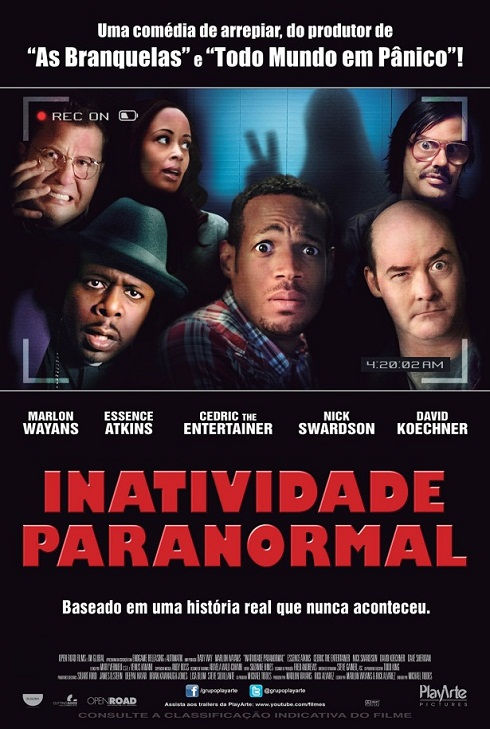 A Haunted House-Official Poster Banner PROMO POSTER NACIONAL-30Janeiro2013 (POST)