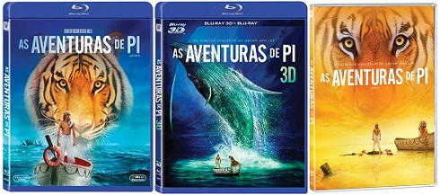 Life of Pi-Poster Banner Official PROMO BLU-RAY-BLURAY 3D-DVD (POST)