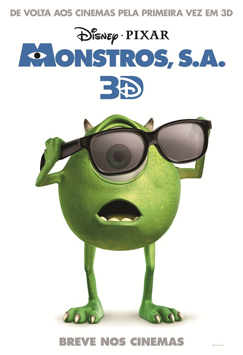 Monsters INC 3D-Official Poster Banner PROMO POSTER-24Janeiro2013 (POST)