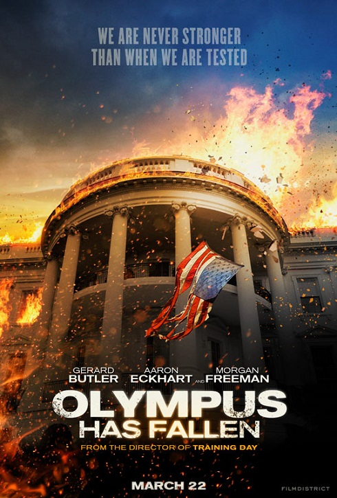 Olympus Has Fallen-Official Poster Banner PROMO POSTER-22Janeiro2013 (POST)