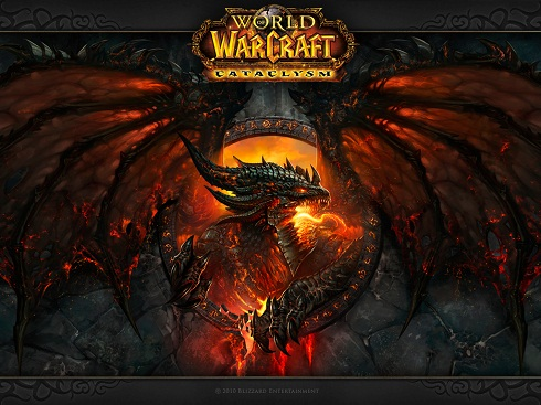World of Warcraft-Official Poster Banner Promo CATACLYSM-31Janeiro2013 (POST)