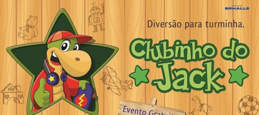 O Clubinho do Jack começa neste domingo no Center Shopping