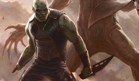 Guardians of the Galaxy-Official Poster Banner PROMO DRAX-17Fevereiro2013 (POST)