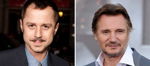 A Million Ways to Die in the West-Giovanni Ribisi-Liam Neeson-Official Poster Banner PROMO (POST)