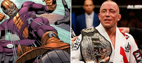 Captain America The Winter Soldier-Georges St-Pierre-BATROC-Official Poster Banner PROMO (POST)