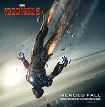 Iron Man 3-Official Poster Banner PROMO-Album Heroes Fall (1)