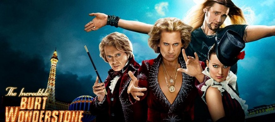The Incredible Burt Wonderstone | Novo trailer revelas cenas inéditas para comédia sobre mágica com Steve Carell, Olivia Wilde e Jim Carrey