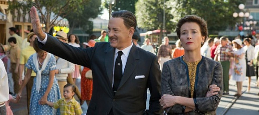 Assista ao primeiro trailer para o drama biográfico Saving Mr.Banks, com Tom Hanks e Emma Thompson