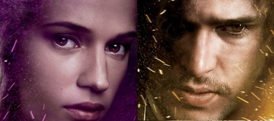 Alicia Vikander e Kit Harington estampam cartazes de personagens de Seventh Son!