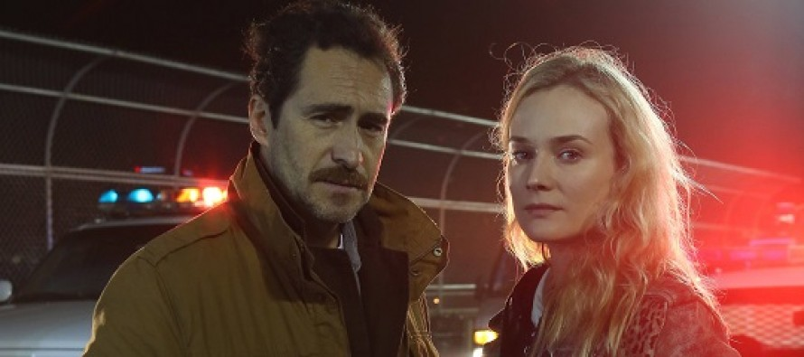 Assista ao primeiro vídeo promocional (PROMO) do episódio (1.10) 'Old Friends' da série The Bridge