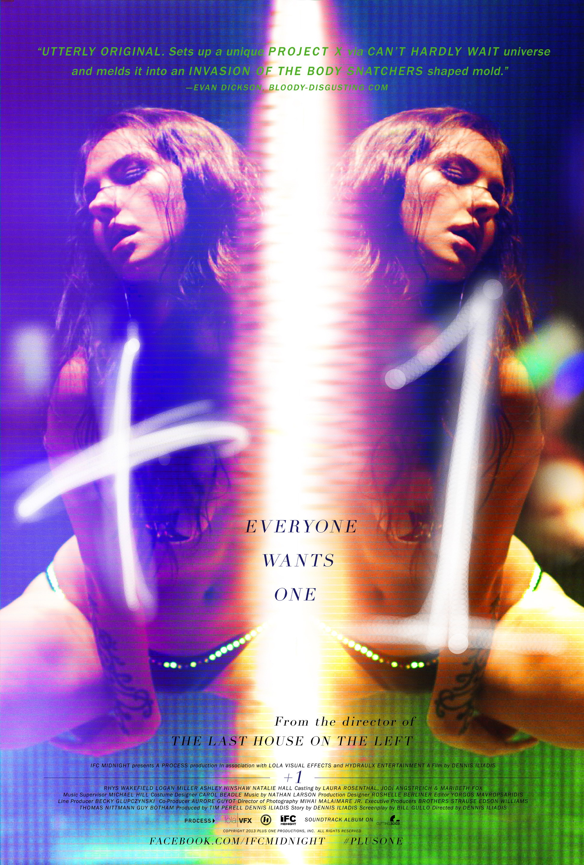 +1 (Plus One)-Official Poster Banner PROMO POSTER-23AGOSTO2013
