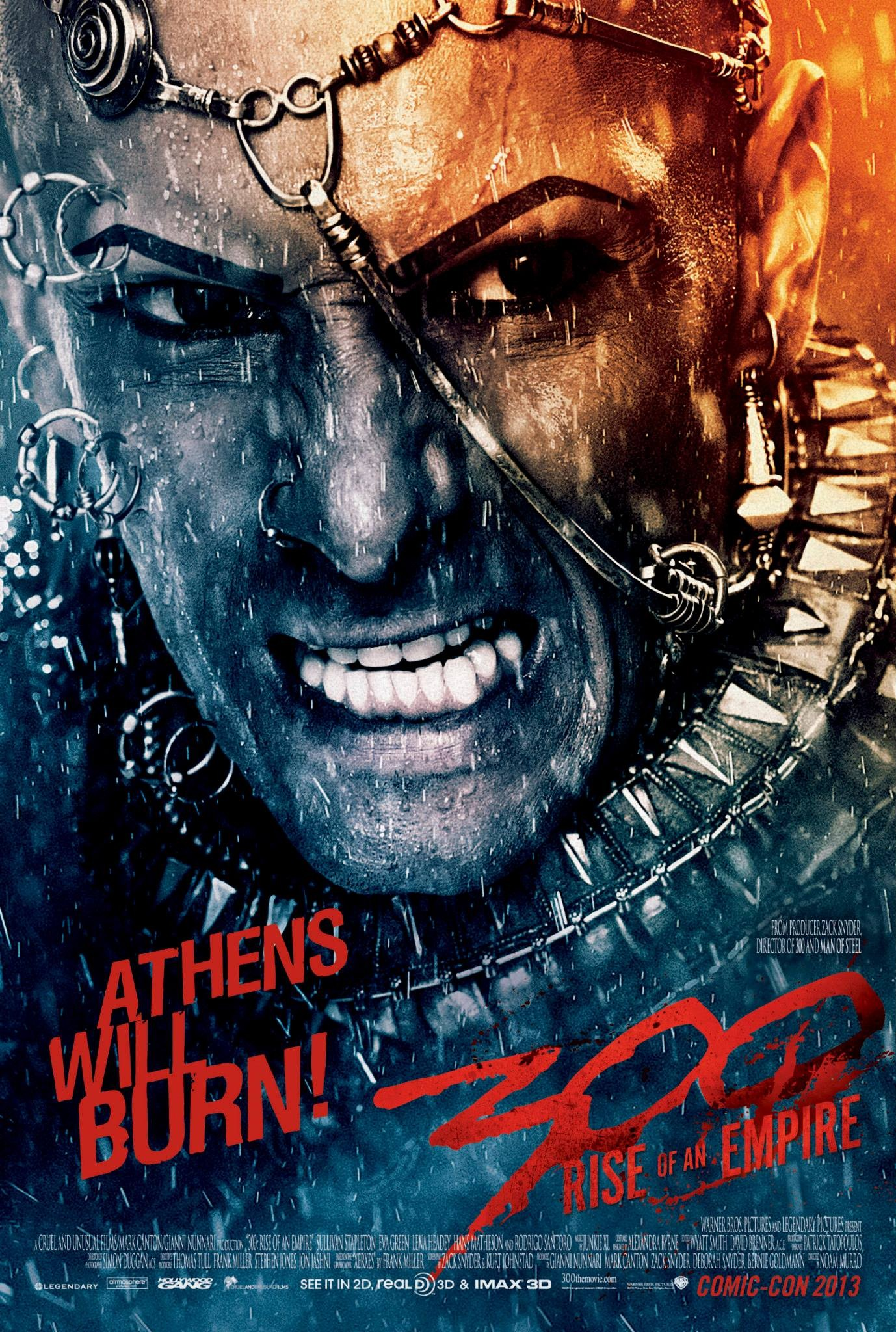 300 Rise of an Empire-Official Poster Banner PROMO COMIC-CON POSTER-17JULHO2013-01