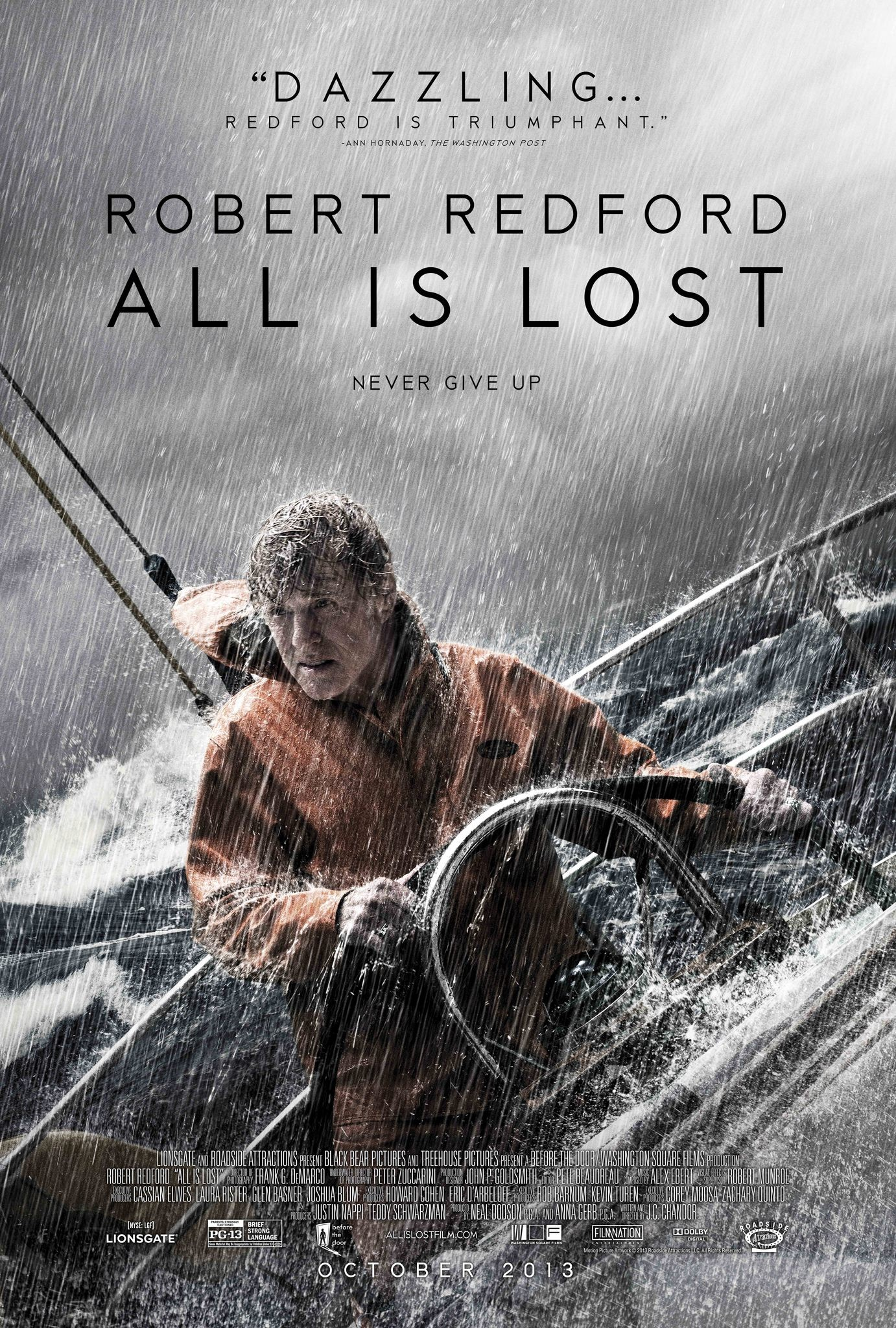All Is Lost-Official Poster Banner PROMO POSTER-30AGOSTO2013