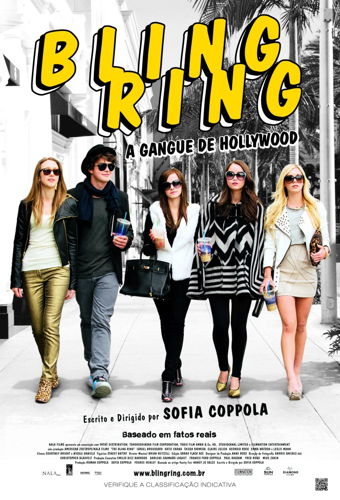 Bling Ring A Gangue de Hollywood-Poster Nacional