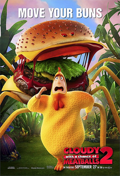 CLOUDY WITH A CHANCE OF MEATBALLS 2-Official Poster Banner PROMO POSTER-19AGOSTO2013-02