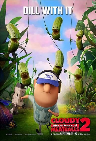 CLOUDY WITH A CHANCE OF MEATBALLS 2-Official Poster Banner PROMO POSTER-19AGOSTO2013-04