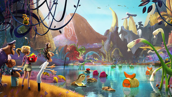Cloud With a Chance of Meatballs 2-Official Poster Banner PROMO PHOTO-22Janeiro2013-13