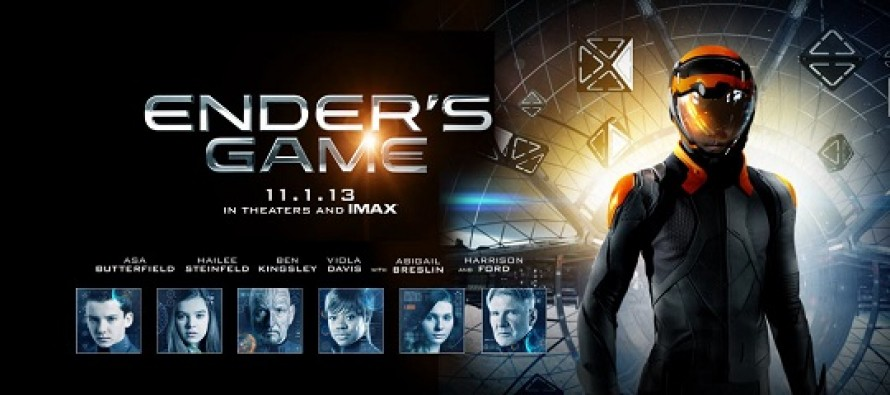 Assista ao trailer final de Ender's Game – O Jogo do Exterminador, adaptação do sci-fi com Asa Butterfield e Harrison Ford