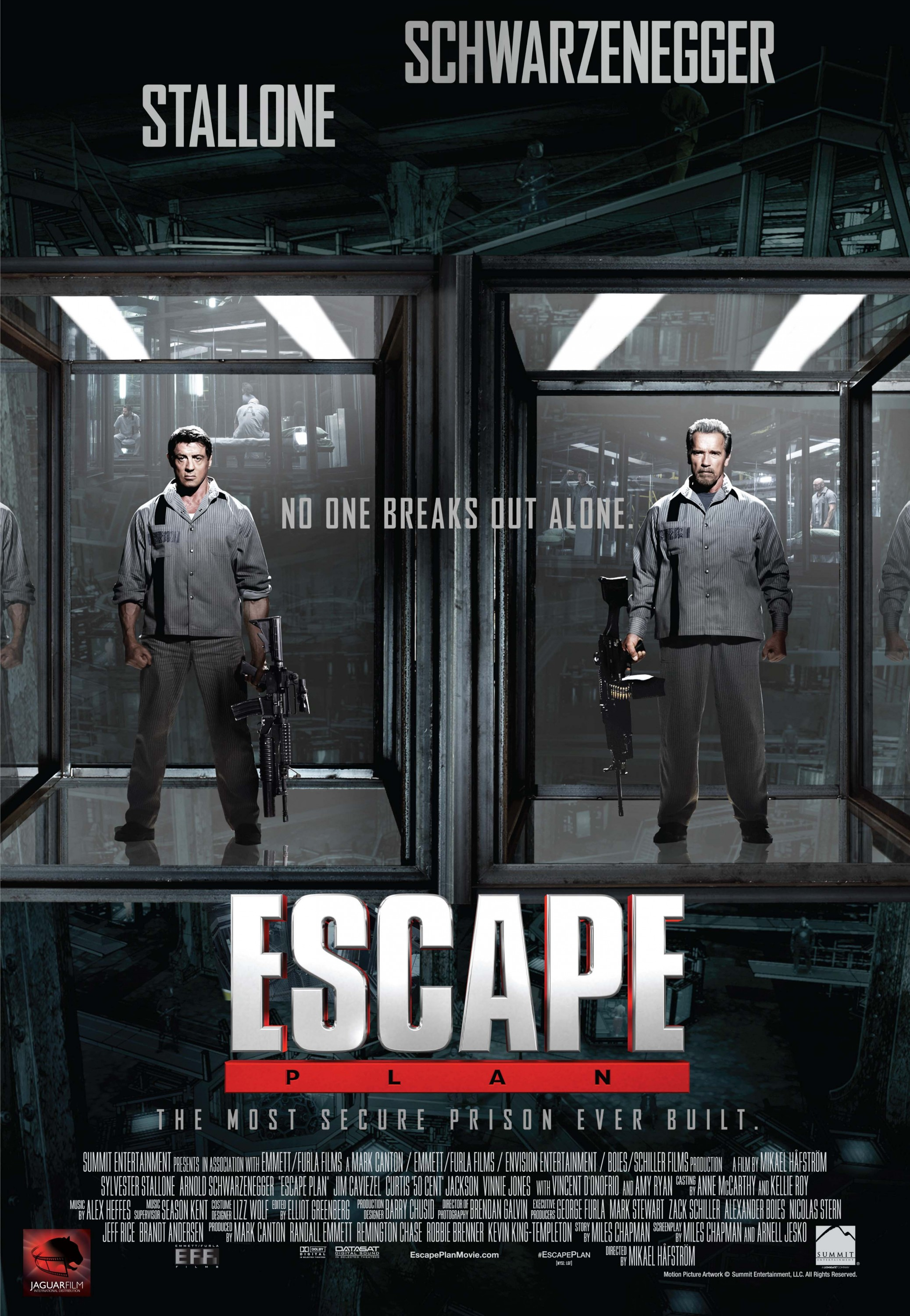 Escape Plan-Official Poster Banner PROMO POSTER-13AGOSTO2013-02