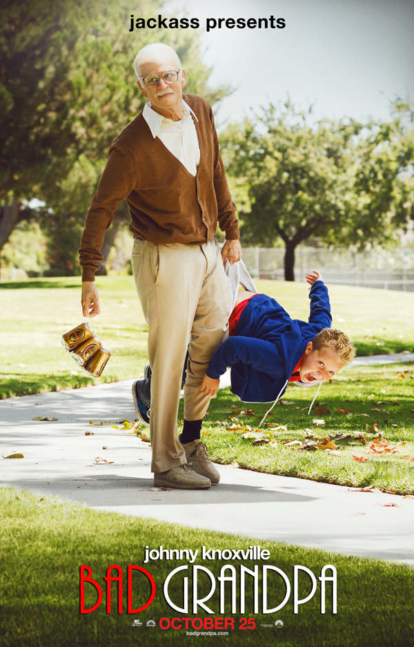 Jackass Presents Bad Grandpa-Official Poster Banner PROMO-27AGOSTO2013