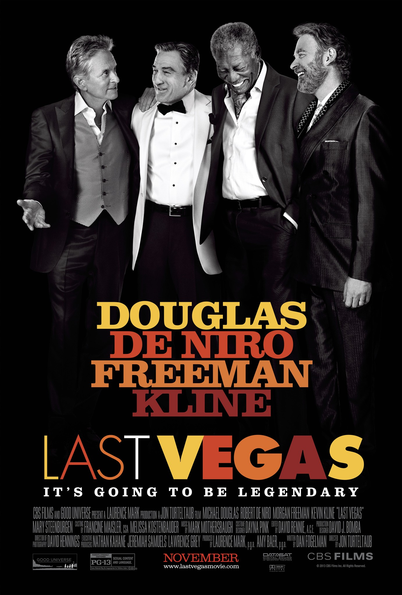 Last Vegas-Official Poster Banner PROMO POSTER-21AGOSTO2013