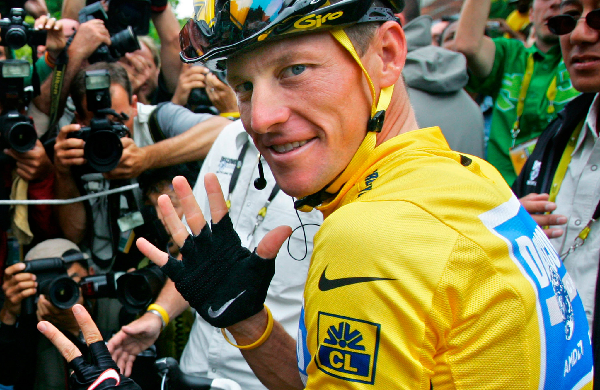 Red Blooded American-Lance Armstrong-Official Poster Banner PROMO-17AGOSTO2013