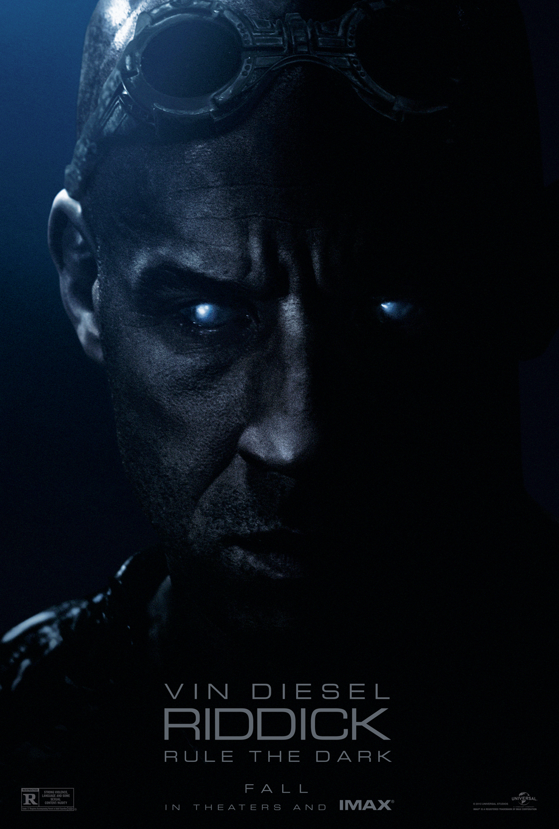 Riddick 3-Official Poster Banner PROMO POSTER-15MAIO2013