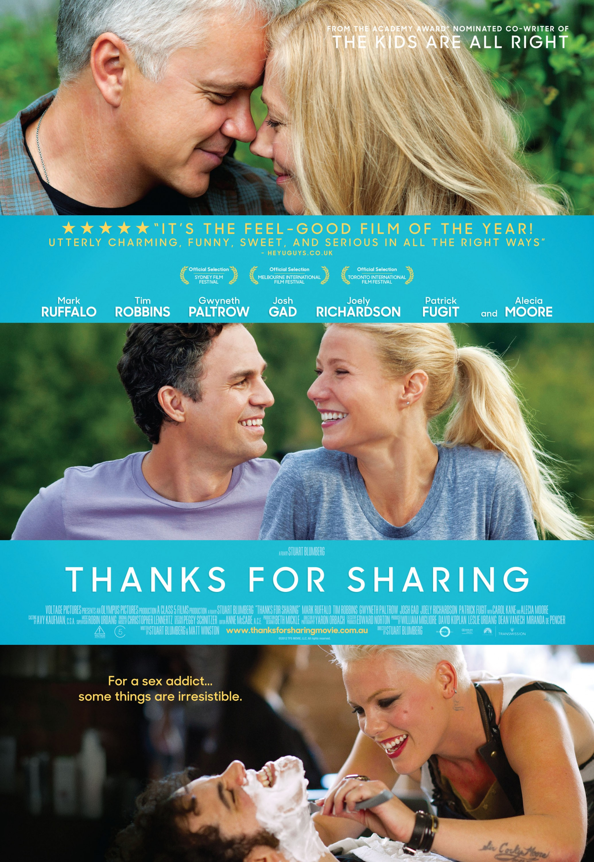 Thanks For Sharing-Official Poster Banner PROMO POSTER-13AGOSTO2013