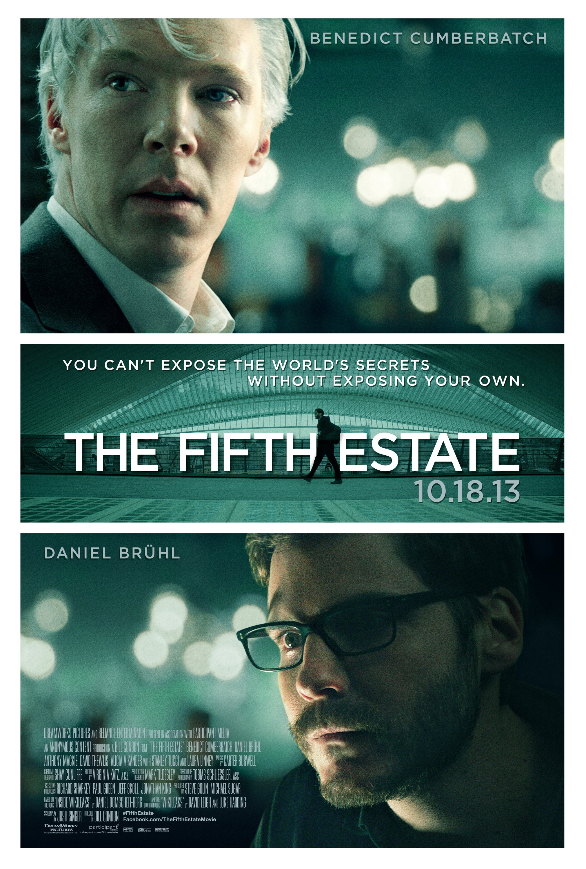 The Fifth Estate-Official Poster Banner PROMO POSTER-20AGOSTO2013