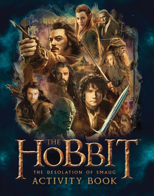 The Hobbit The Desolation of Smaug-Official Poster Banner PROMO BOOKS-19AGOSTO2013-03