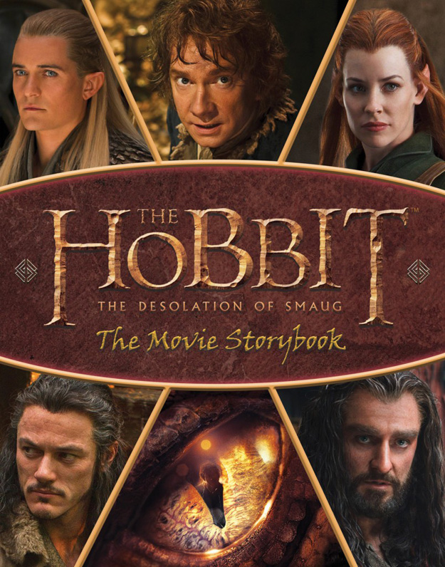 The Hobbit The Desolation of Smaug-Official Poster Banner PROMO BOOKS-19AGOSTO2013-04