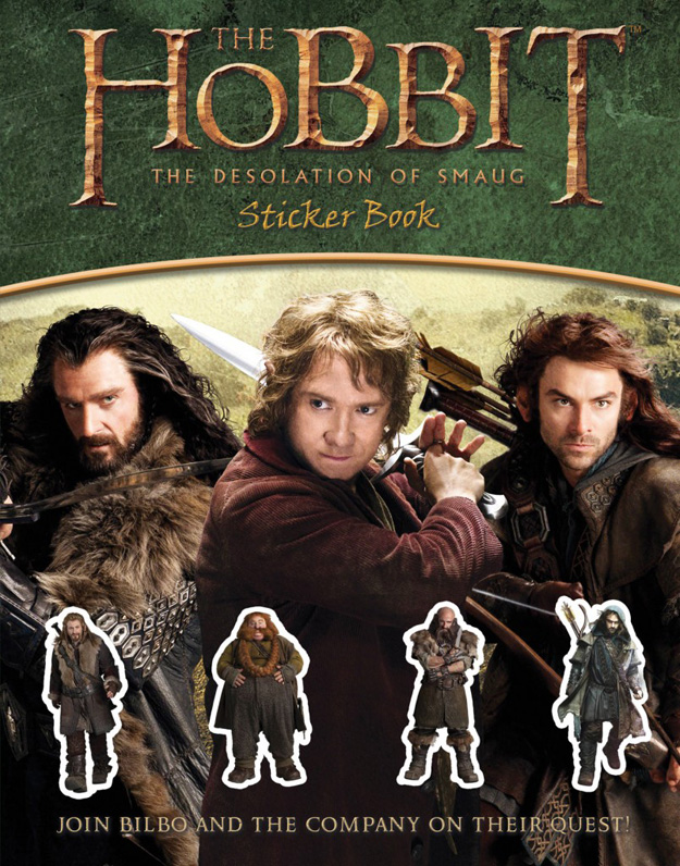 The Hobbit The Desolation of Smaug-Official Poster Banner PROMO BOOKS-19AGOSTO2013-05
