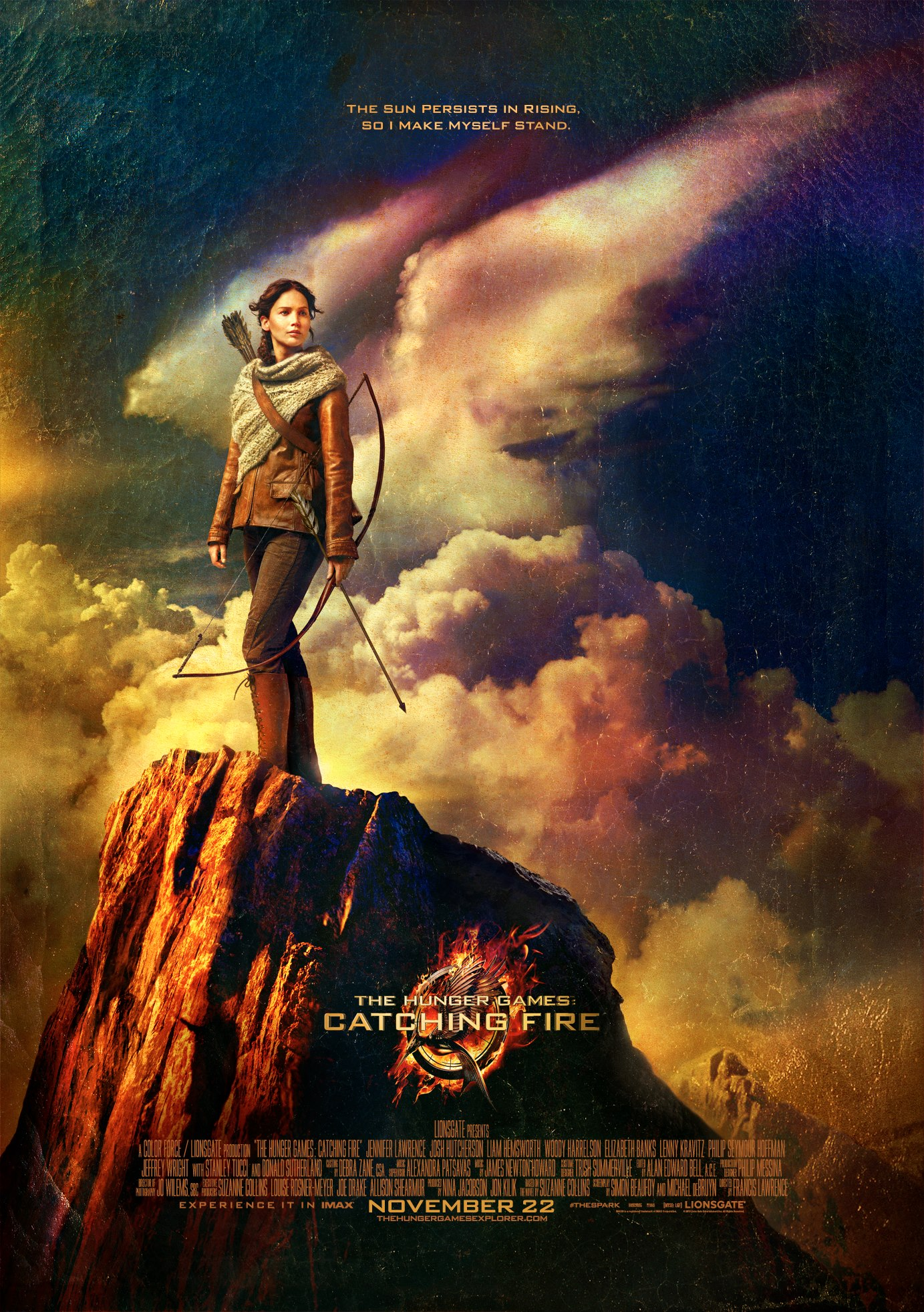 The Hunger Games Catching Fire-Official Poster Banner PROMO-15MAIO2013