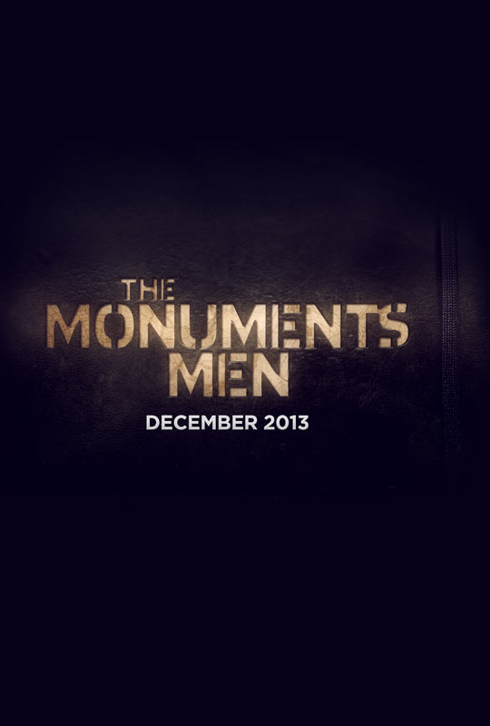 The Monuments Men-Official Poster Banner PROMO POSTER-09AGOSTO2013