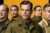 Elenco reunido no pôster inédito de The Monuments Men, dirigido por George Clooney